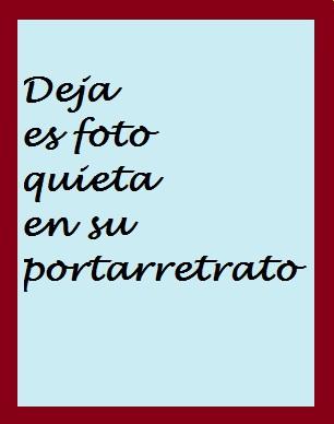 Deja esa foto